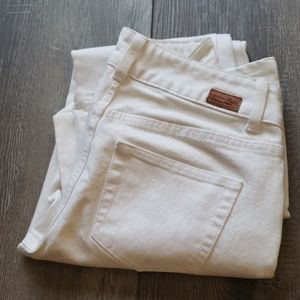 London jeans stretch white flare 6